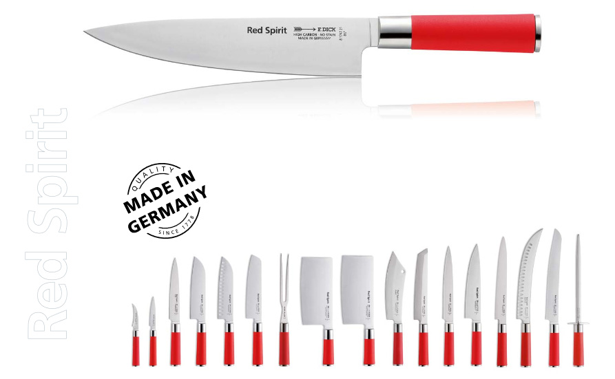 F.Dick Red Spirit Chef Knife 21cm 6